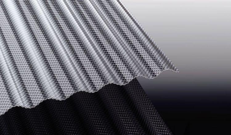 Unsere Polycarbonat Wellplatten mit Wabenstruktur sind extrem hagelfest und haben das Profil: S 76/18. Die Stärke der Platte ist 2,8 mm. Erhältlich in einer Breite von 1045 mm sowie den Längen 2000 - 6000 mm.