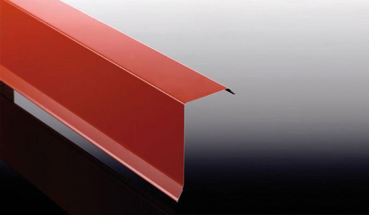 Das 0,5 mm Ortgangblech für unsere Dachbleche ist in 5 verschiedenen Farben erhältlich und dient zur Verkleidung des seitlichen Randes Ihrer Bedachung.