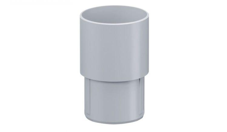 Mit der Inefa Rohrmuffe DN 75 verbinden Sie die Fallrohre mit Rohrbögen oder weiteren Fallrohren. Die erhältlichen Farben sind: Grau, Braun und Weiß
