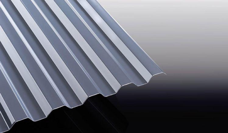 Unsere grauen Polycarbonat Wellplatten mit dem Profil K 76/18 sind in Längen von 2000 - 6000 mm erhältlich - Sie können die Wellplatten auch individuell zuschneiden lassen.