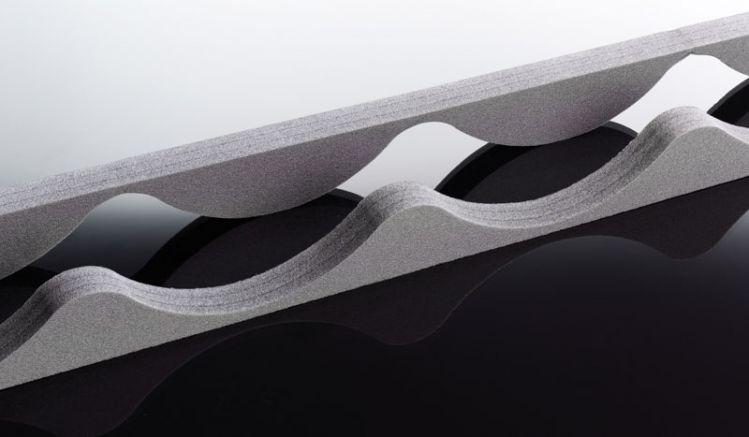 Unsere langlebigen Schaumstoff Profilfüller für 177/47 Pfannenbleche haben eine Länge von 1060 mm. Die Profilfüller bestehen aus anthrazitfarbenen Schaumstoff und verschließen die Profilblechöffnungen von Pfannenblechen.