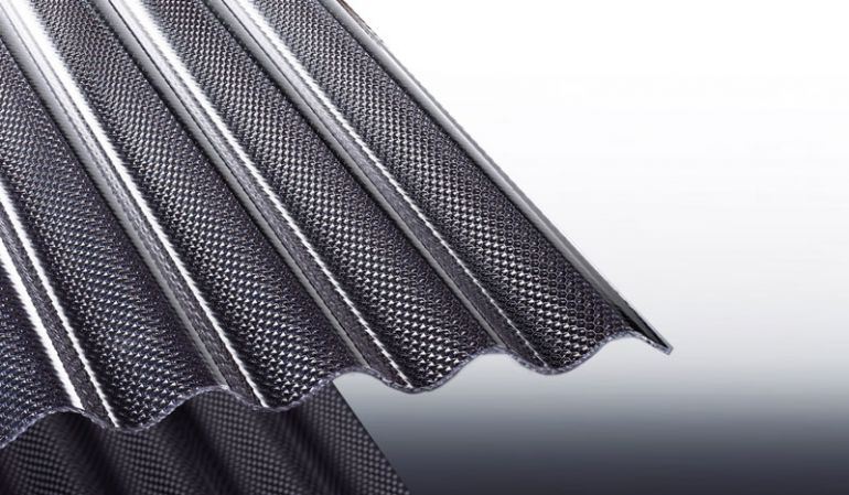 Unsere lichtgrauen Wellplatten aus bruchfestem Acryl haben eine Wabenstruktur. Sie können zwischen Längen von 2000 - 6000 mm wählen oder individuelle Zuschnitte eintragen.