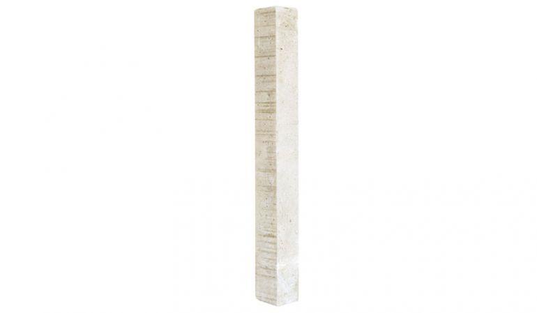 10 x 10 x 95 cm Fundamenteinschub für Aluminium-Pfosten hat das Maß. Dieser verstärkt die Verankerung Ihres Pfostens im Boden